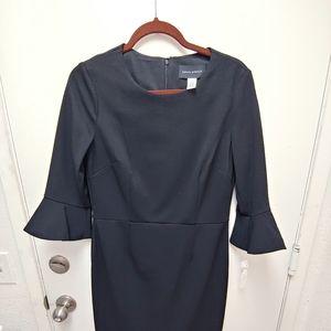 Donna Morgan Gabby Bell sleeve sheath dress